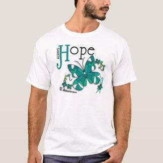 T-shirt Papillon PKD en verre souillé