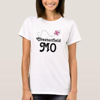 T-shirt Papillon rose de Chesterfield Missouri