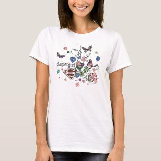 T-shirt Papillons de Supergirl