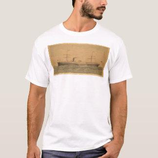 T-shirt Paquebot Pacifique Sacramento (1607A)