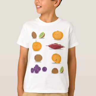 T-shirt Paquet drôle d'amusement de fruits