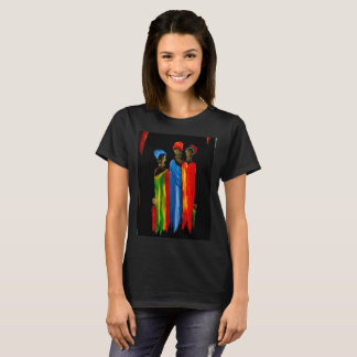 T-shirt par la cannelle les trois dames sages