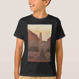 T-shirt Par le townwall par Caspar David Friedrich