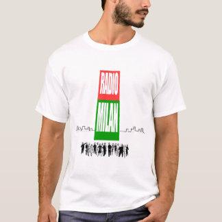 T-shirt par radio de Milan