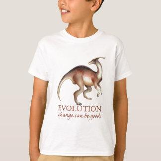 T-shirt Parasaurolophus d'évolution