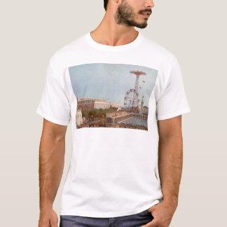 T-shirt Parc d'attractions de course d'obstacles, Coney
