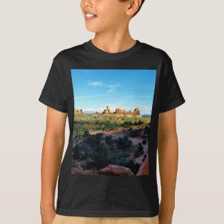 T-shirt Parc national de voûtes d'une distance