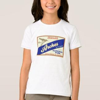 T-shirt Parc national de voûtes (fauvette)