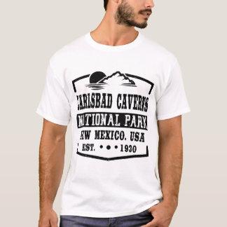 T-SHIRT PARC NATIONAL NOUVEAU MEXIQUE DE CAVERNES DE