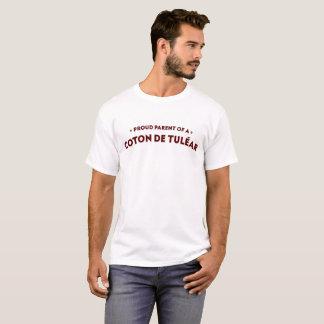 T-shirt Parent fier d'une chemise d'hommes de coton
