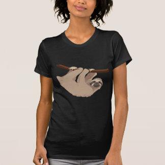 T-shirt Paresse bottée avec la pointe du pied par trois