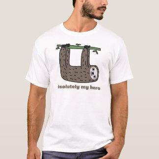 T-shirt Paresse le héros