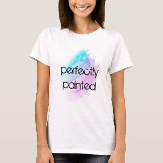 T-shirt parfaitement peint