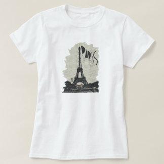 T-shirt Paris eifel tower jnf