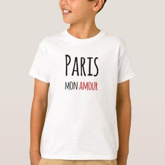 T-shirt Paris, Mon amour