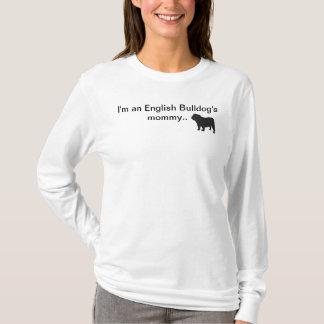 T-shirt Parka de maman de bouledogue