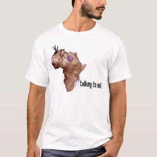 T-shirt Parler de l'Afrique