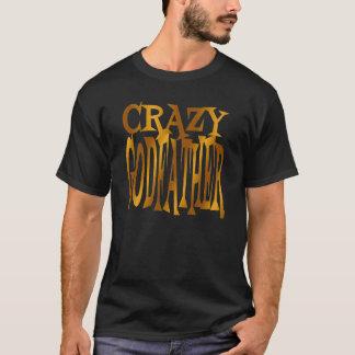 T-shirt Parrain fou en or