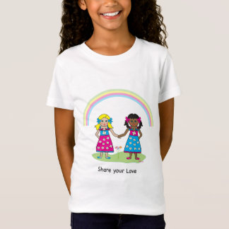 T-Shirt Partagez l'amour - égalité pour tous
