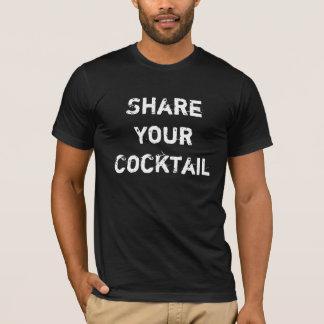 T-shirt Partagez votre cocktail