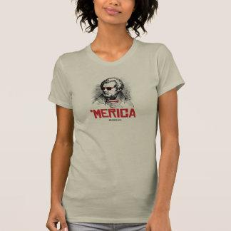 T-shirt Partie d'Andrew Jackson 'Merican