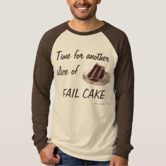 T-shirt Partie de gâteau d'échouer