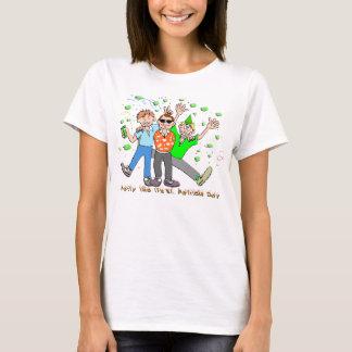 T-shirt Partie du jour de St Patrick