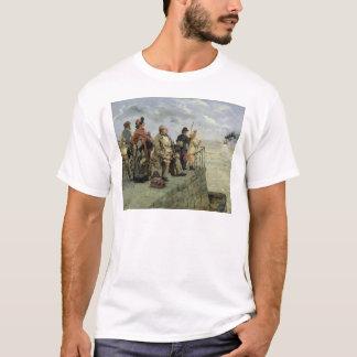 T-shirt Partir pour le Jersey
