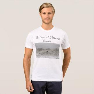 """T-shirt """"Pas aussi"""" la grouse célèbre"""