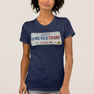T-shirt Pas trump jamais - Cleveland, OH (la VERSION des