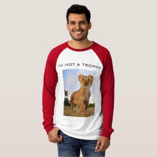 T-shirt Pas un trophée de lion