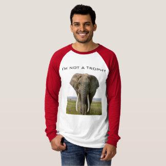 T-shirt Pas un trophée d'éléphant