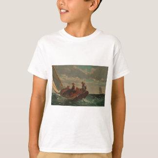 T-shirt Passer en coup de vent (un vent juste) par Winslow