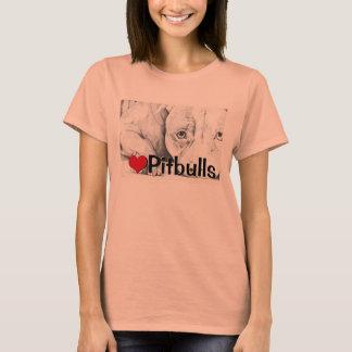 T-shirt Patiemment attendant (pitbulls de coeur)