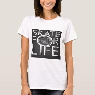 T-shirt patin pour le merch de la vie