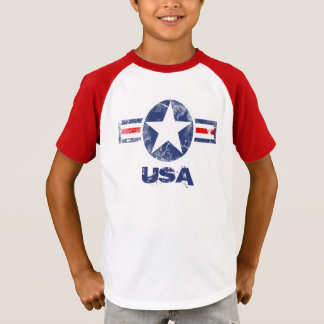 T-shirt patriotique des Etats-Unis d'étoile