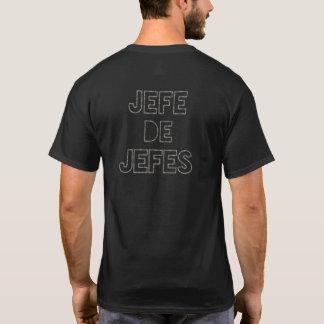T-shirt Patron des patrons/Jefe de Jefes