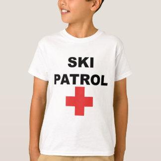 T-shirt Patrouille de ski