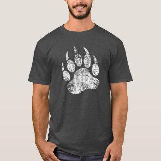 T-shirt Patte d'ours grunge de fierté d'ours