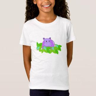 T-Shirt Pâturage pourpre d'hippopotame