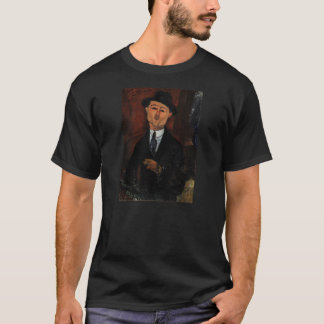 T-shirt Paul Guillaume, Novo Pilota par Amedeo Modigliani