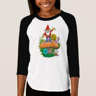 T-shirt Pause café de ondulation de gnomes de jardin