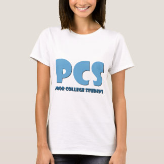 T-shirt Pauvre étudiant universitaire