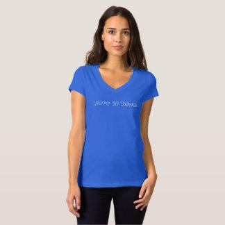 T-shirt pavez-le bleu