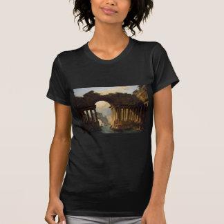 T-shirt Paysage architectural avec un canal par Hubert