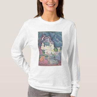 T-shirt Paysage avec des chèvres, 1895