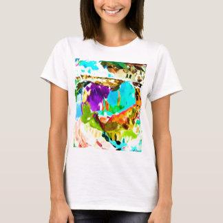 T-shirt Paysage extraordinaire V1 de bleu de ciel
