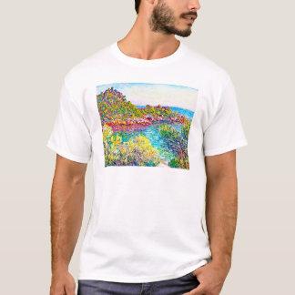 T-shirt Paysage près de Monte Carlo, Claude Monet 1883