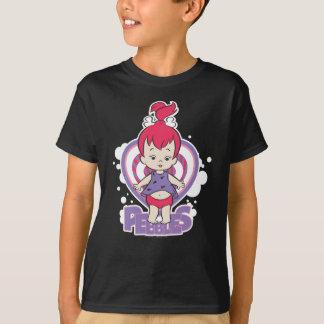 T-shirt PEBBLES™ de roche en place
