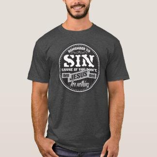 T-shirt Péché